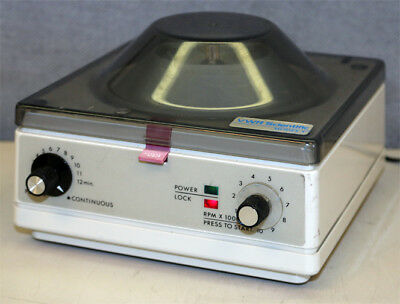 Vwr Scientific Model V Microfuge Micro Centrifuge With 6-tube Rotor