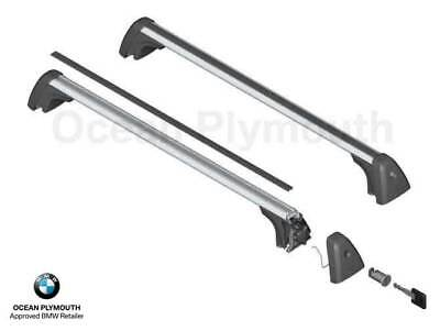 M03FU ST 120cm Roof Rack Cross Bars Alfa Romeo Audi BMW