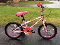 Halfords girls Apollo 16 inch bike