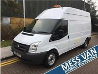 2008 Ford Transit 350 LH RWD 2402cc 140ps Mess Van Manual MESS