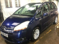 CITROEN C4 GRAND PICASSO 2.0 VTR PLUS HDI EGS 5d AUTO 135 BHP 7 SEATS + AUTOMATIC + DIESEL