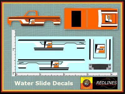 1//64 /'83 Chevy Silverado FRAM Orange /' Decal SCR-0203
