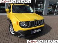 2015 Jeep Renegade LONGITUDE Petrol yellow Manual