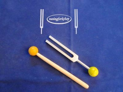 528 Hz MI for DNA Repair Sound & Color Healing Tuning Fork+removable Rubber Ball