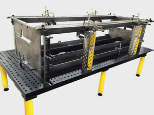New BuildPro® MAX 8' x 4' Welding Tables
