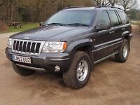 Jeep Grand Cherokee Overland V8 HO. Only 63248 miles!