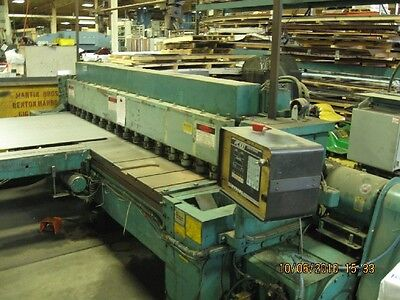14 X 10 Wysong Shear New 1988 - Fabricating Sheet Metal Machinery
