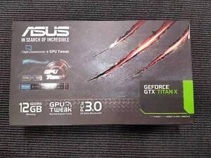 Asus Geforce GTX Titan X Graphics Cards 12GB Camperdown Inner Sydney Preview