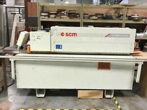 SCM K203 edge bander 3 mil capacity great price