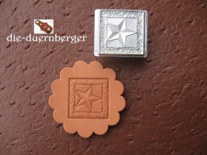 PUNZIERSTEMPEL Punziereisen Lederwerkzeug Prägestempel Stamp Westernreiten Stern