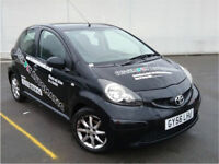 Toyota Aygo 1.0 VVT-i Black Multimode AUTOMATIC 5dr CALL 07479320160