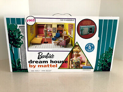 Mattel Barbie 2017 Reproduction of 1962 Dream House Without Doll