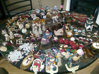 Large Selection of Christmas Ornaments **Country Style**