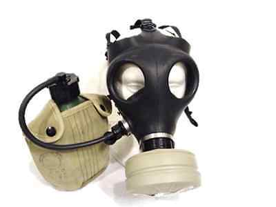Israeli Civilian Gas Mask With Nato Filter And Insulated Canteen