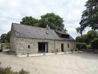 COTTAGE ROSTRENEN FRANCE 106 SQUARE METER