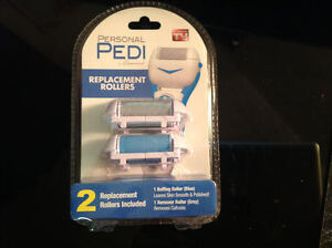 Personal Pedi by Laurant. Replacement Rollers.NEW.