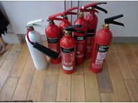 FREE Empty CO2 Fire Extinguishers