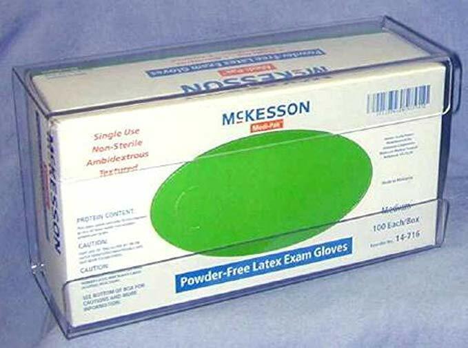 Glove Box Holder Single Plastic Latex Free Dispenser For Medical Gloves Exam