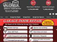 Garage Door Repair West Island / Montreal / Vaudreuil area