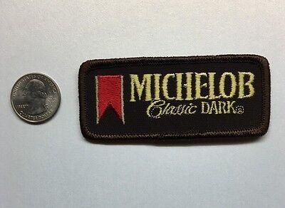 """Michelob Classic Dark Anheuser-Busch Logo Beer Patch Budweiser Bud 1.5"""" X 3.5"""""""