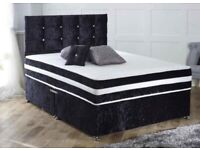 😍😍 Velvet divan beds with free delivery!!