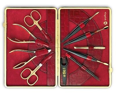 KROKO XL Manicure Set by Niegeloh Solingen (Germany)