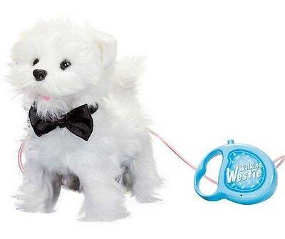 Toy Walking Westie Puppy 21cm Walks & Barks