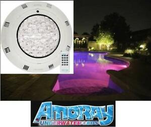 NEW* AMORAY UNDERWATER LED LIGHT 188264950 Pools, Ponds, Lakes, Fountains, Docks, Water Features, Streams