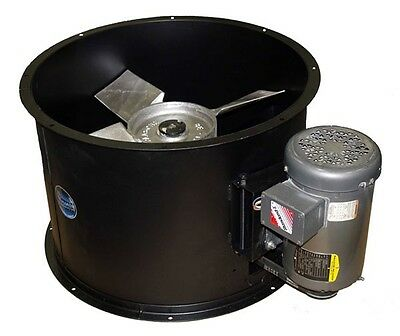 Spray Booth Fan - 24 Tube Axial 8600 Cfm - 3 Phase Motor - Made In The Usa