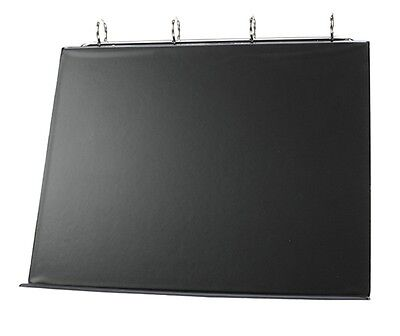 1 X A4 Black Pvc Presentation Board Conference Table Top Flip Chart Easel Stand