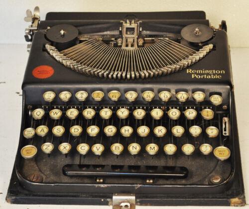 4 Remington antique portable typewriters