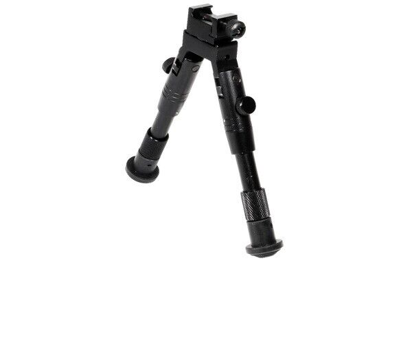 UTG Bipod, SWAT/Combat Profile, Adjustable Height 526167 LEA
