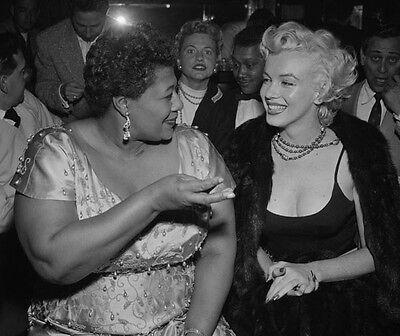Ella Fitzgerald & Marilyn Monroe  10x 8 UNSIGNED photo - P1427