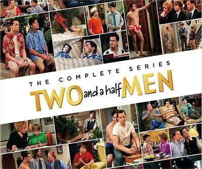 New Two and a Half Men Complete Series DVD Set Seasons 1-12 60 Day
