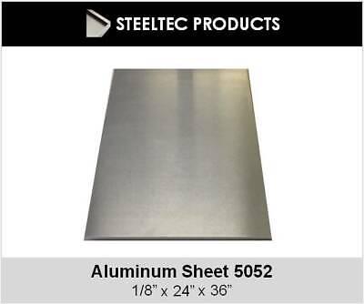 .125 18 Aluminum Sheet Plate 24 X 36 5052