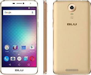 UNLOCKED BRAND NEW BLU STUDIO XL 2 16GB GOLD WITH WARRANTY