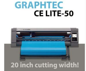 "Graphtec 20"" CE LITE-50 Heat transfer cutter SUPERIOR QUALITY"