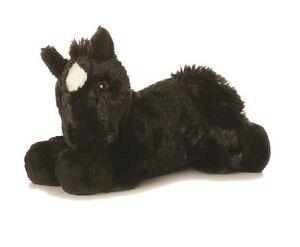 NEW AURORA PLUSH FLOPSIES HORSE CUDDLY SOFT FOAL TOY PONY TEDDY