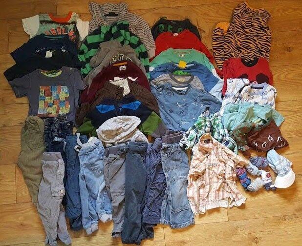 19ccc786310f 18-24 months boys clothes- bundle- trousers, jeans, jumpers, shirts,  pyjamas etc