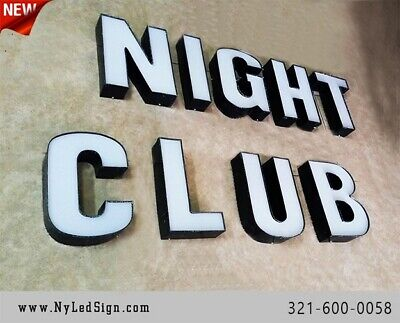 New Led Channel Letters Business Sign - 18 - Custom Made