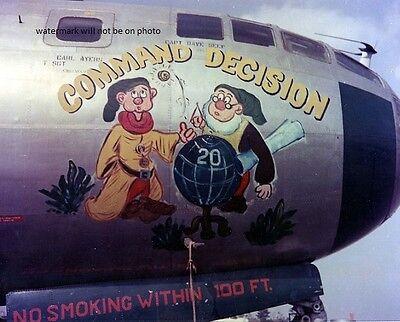 Boeing B-29 Bomber Command Decision Nose Art 8