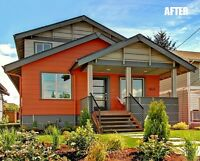 EXTERIOR PAINTING MAKEOVERS!! AMAZING CHANGES!!!