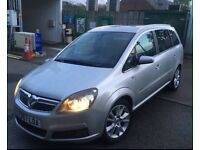 2007 Vauxhall Zafira 2.0 Turbo Design 200Bhp 7 Seater!**Sporty Famiy Car**12Month Mot**Bargain