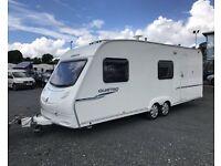 Sprite Quattro 6 berth touring caravan