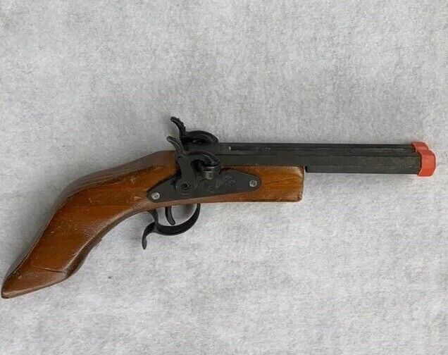 Parris Toy Cap Gun - Vintage Double Barrel - Made in USA