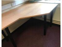 Cheap Waved Desk