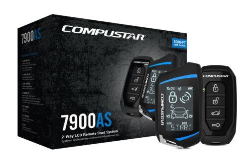 Compustar CS7900AS All-In-One 2-Way Remote Starter, Alarm, Keyless,