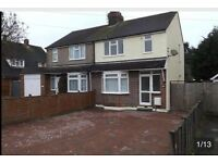 Lovely 3 bedroom semi detcahed property close to leagrave train station £1200pcm inc council tax