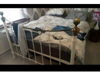 Metal King Size Bed Available