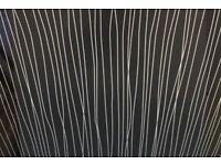 2 x Black String Wet Wall Boards 1m x 2.4m x 10mm